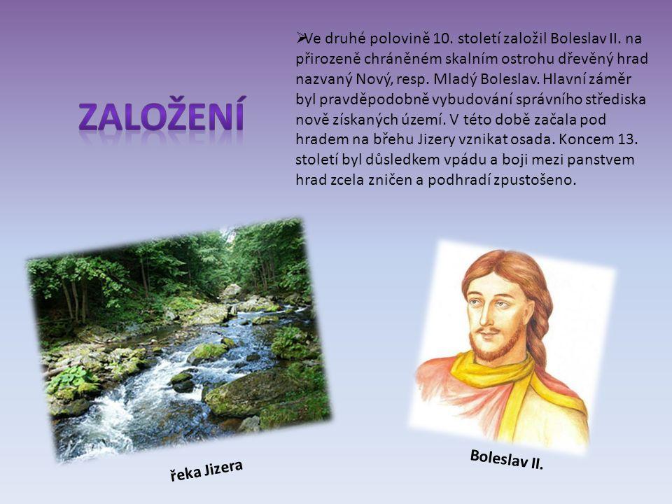  Ve druhé polovině 10. století založil Boleslav II.