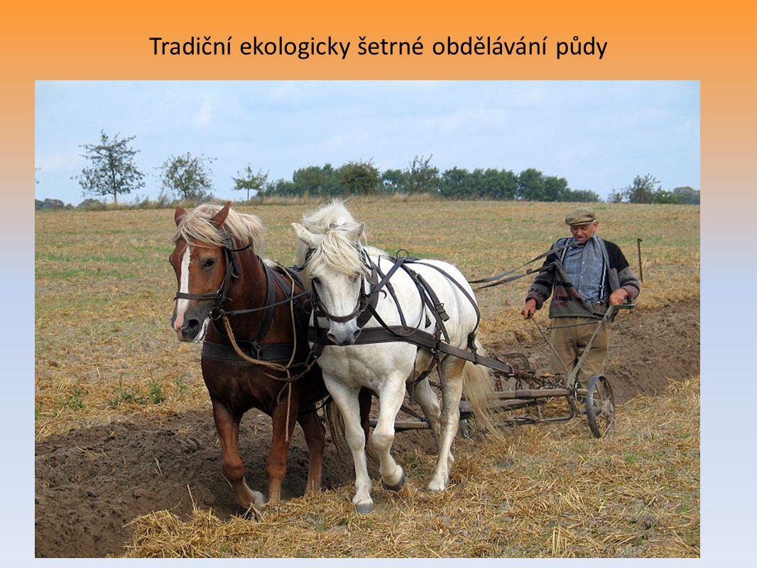 Tradiční ekologicky šetrné obdělávání půdy