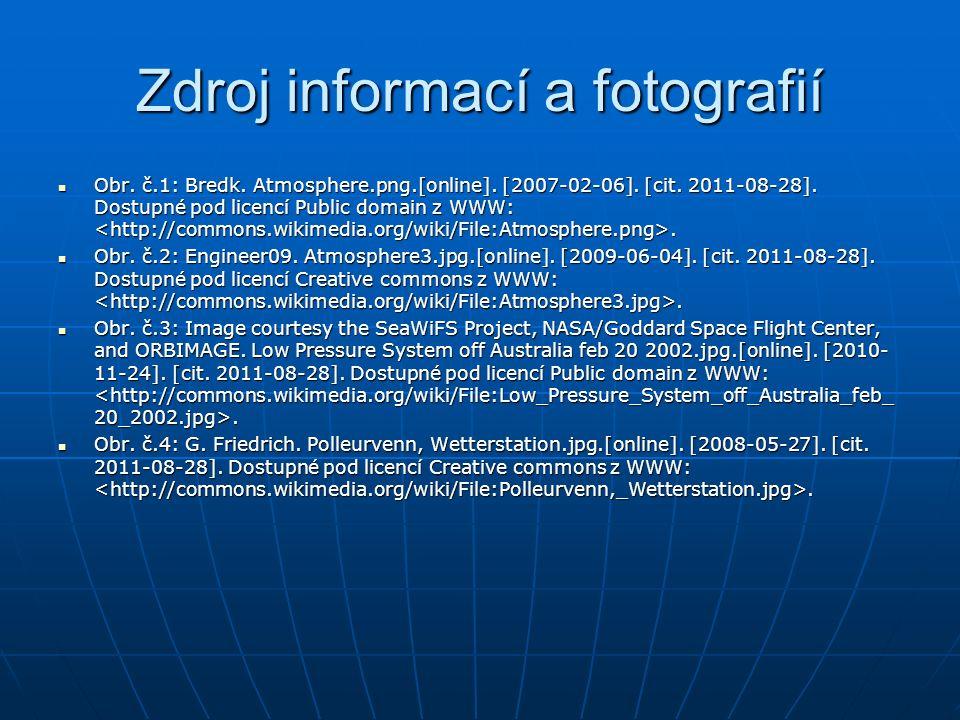 Zdroj informací a fotografií Obr. č.1: Bredk. Atmosphere.png.[online].