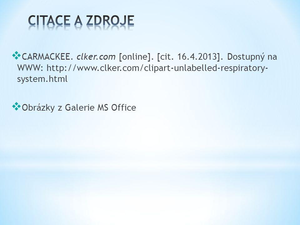  CARMACKEE. clker.com [online]. [cit. 16.4.2013].