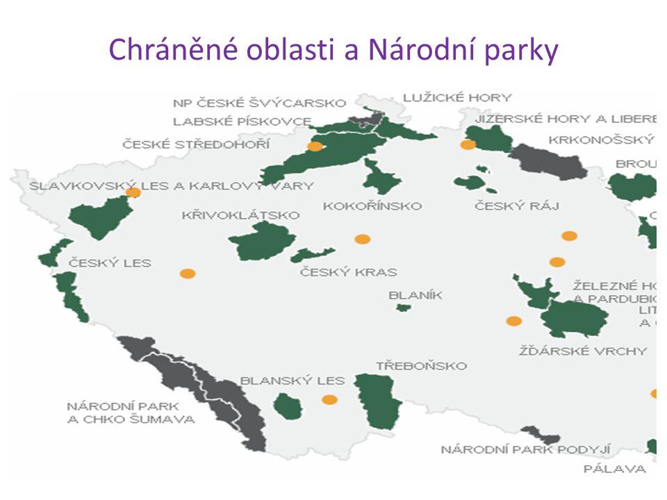 Otázky a úkoly 1.Podle čeho se řídí chráněná území v ČR.