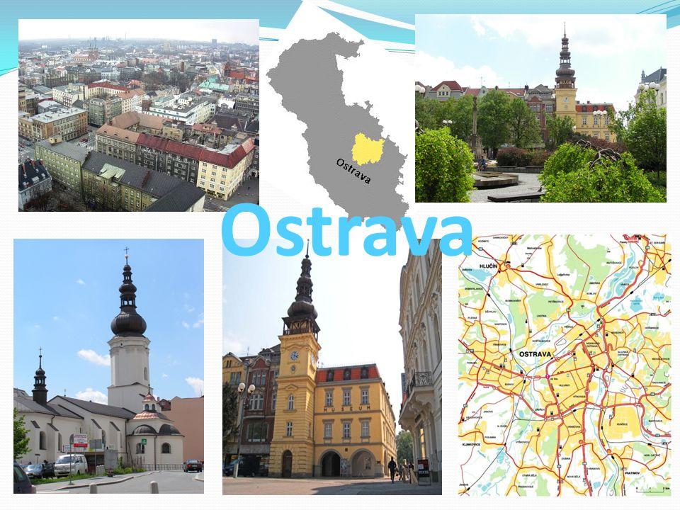 Ostrava je město na rozhraní Slezska a Moravy na severovýchodě České republiky, poblíž hranic s Polskem.