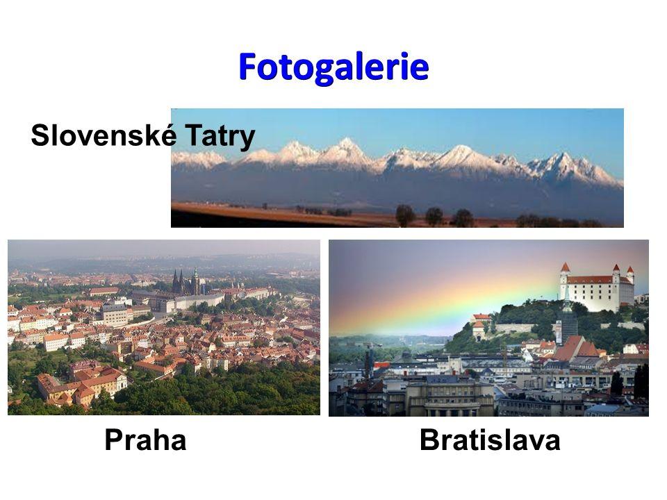 Slovenské Tatry PrahaBratislava Fotogalerie