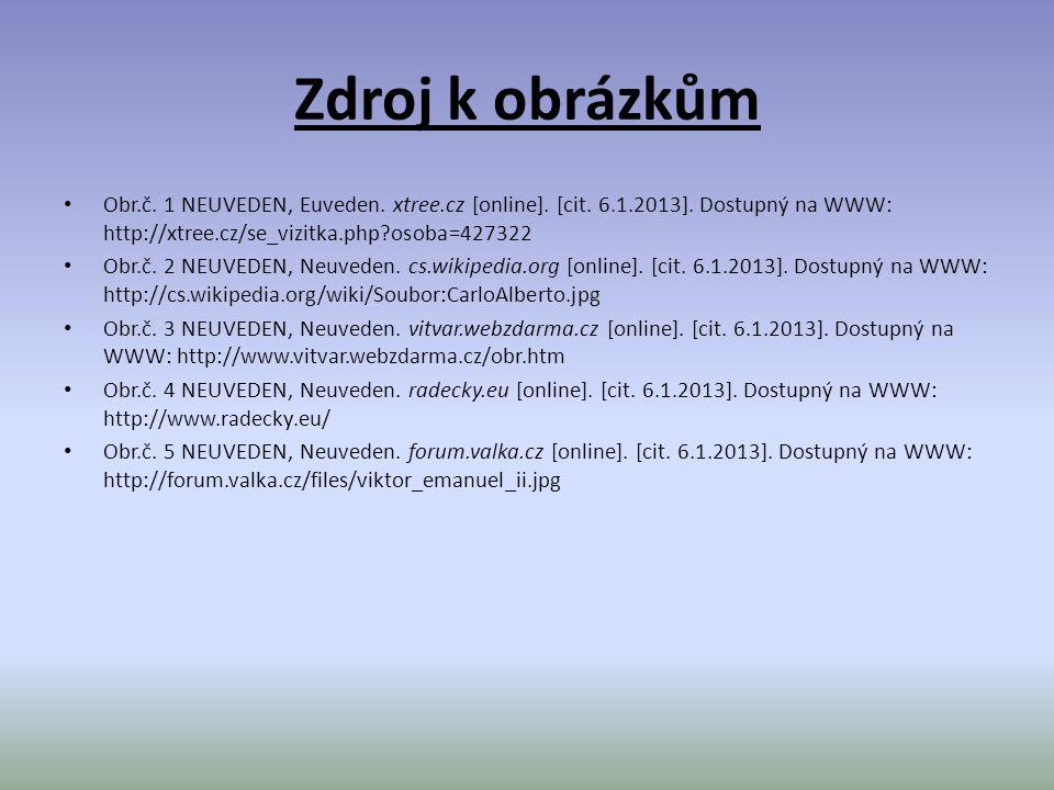 Zdroj k obrázkům Obr.č. 1 NEUVEDEN, Euveden. xtree.cz [online].