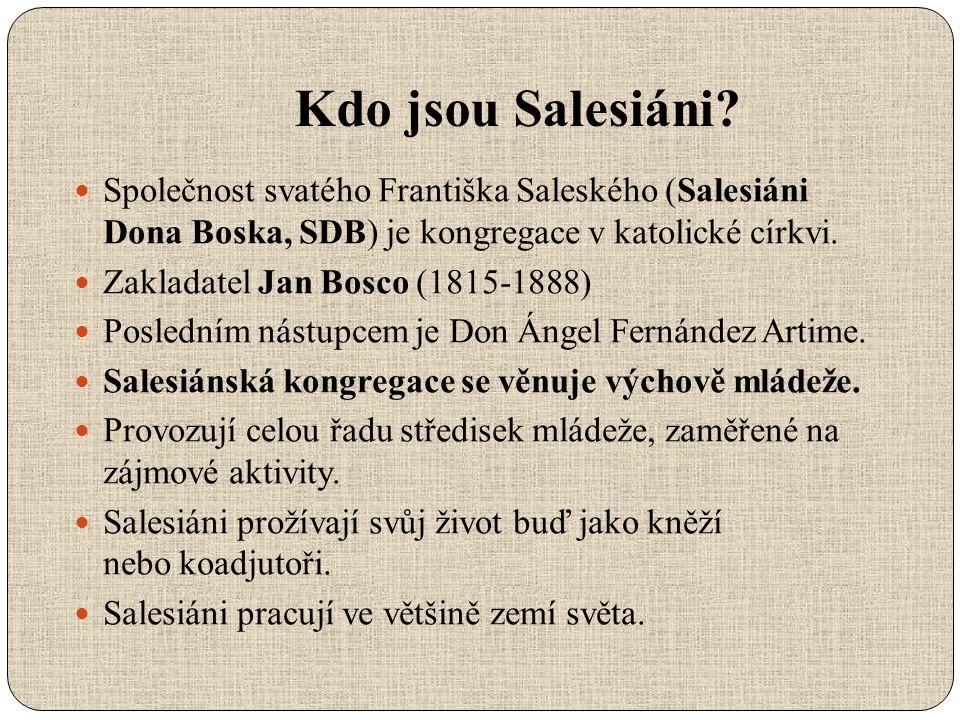 Kdo jsou Salesiáni.
