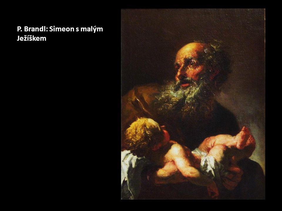 P. Brandl: Simeon s malým Ježíškem