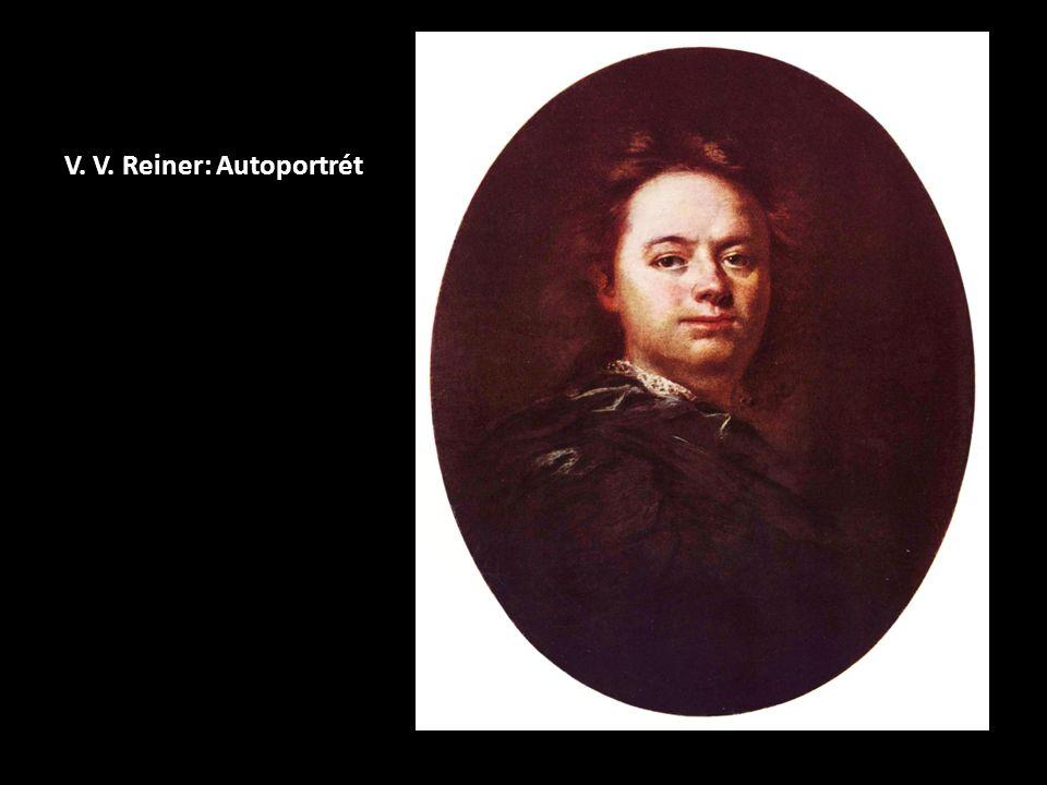 V. V. Reiner: Autoportrét