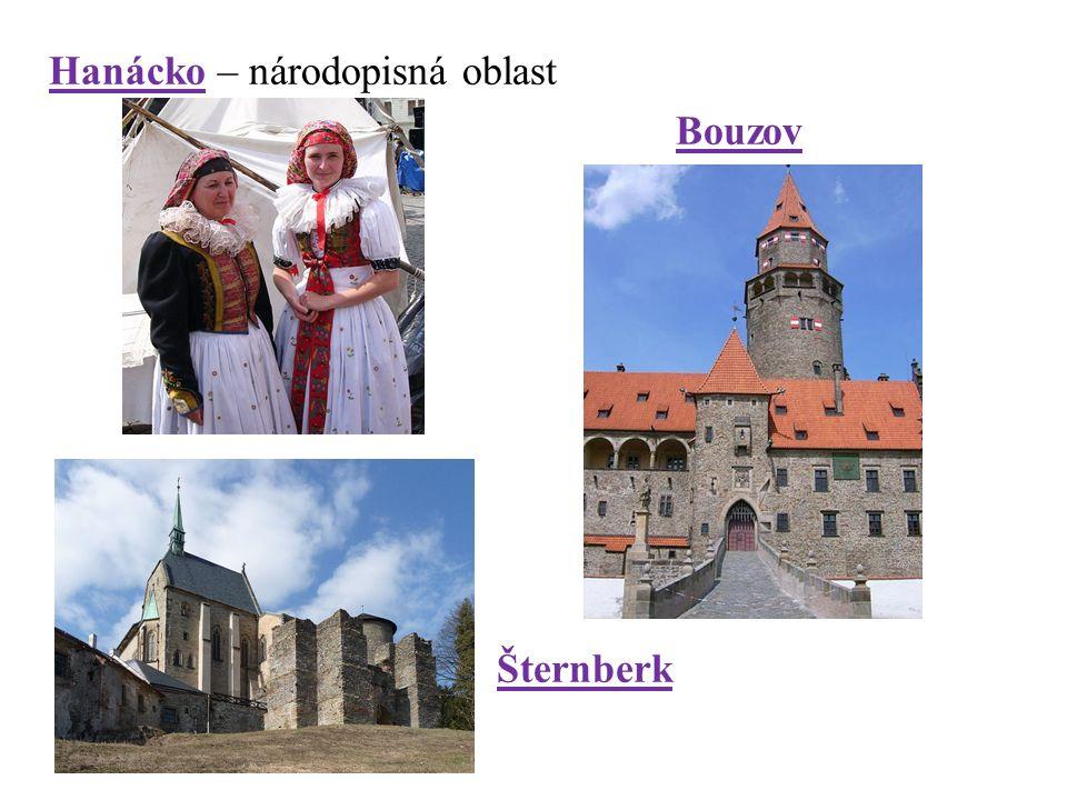 Hanácko – národopisná oblast Bouzov Šternberk