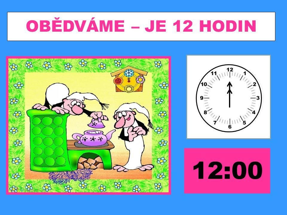 UČÍME SE – JE 14 HODIN 14:00