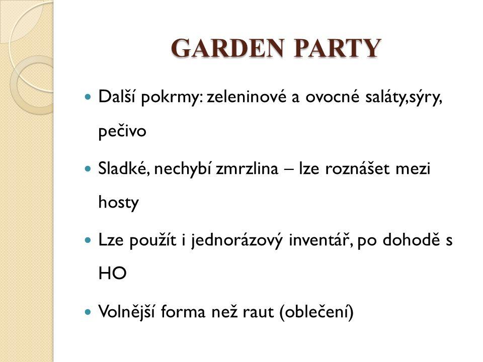 GARDEN PARTY Obr.1