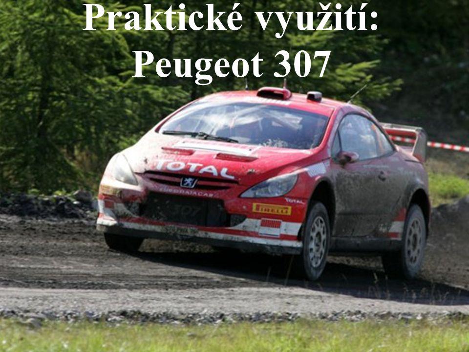 Prakatické využití – Peugeot 307 Kombinovaná spotřeba (město/mimo město) Peugeotu 307 je 6,5 l benzinu na 100km.