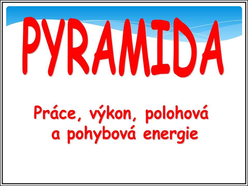ŘEŠENÍ E ZPĚT 19. Jakou značku používáme pro fyzikální veličinu energie?