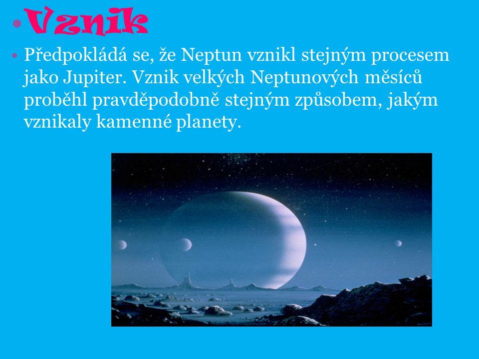Vznik Předpokládá se, že Neptun vznikl stejným procesem jako Jupiter.