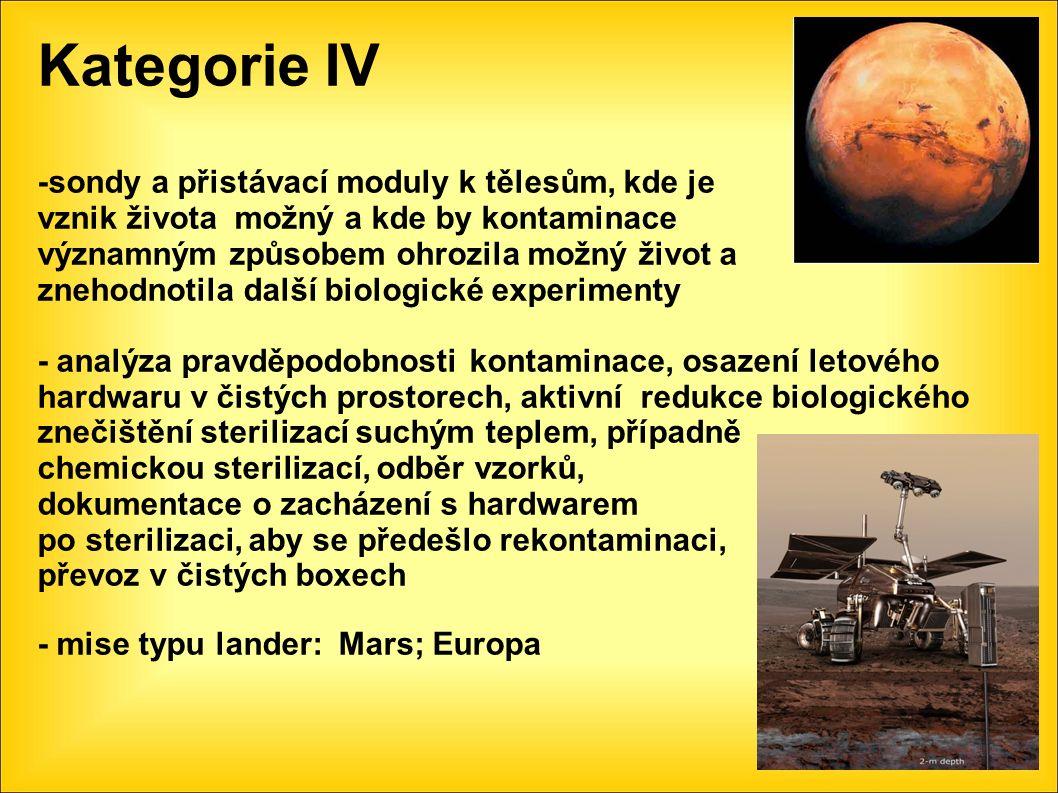 Experiment Protect Simulace podmínek cesty na Mars a podmínek na planetě Mars na ISS (záření, vakuum, extrémní teploty) Přežilo téměř 100% bakterií, které nebyly přímo vystaveny UV záření a kosmickému galaktickému záření Předletová sterilizace pro mise na Mars je nezbytná