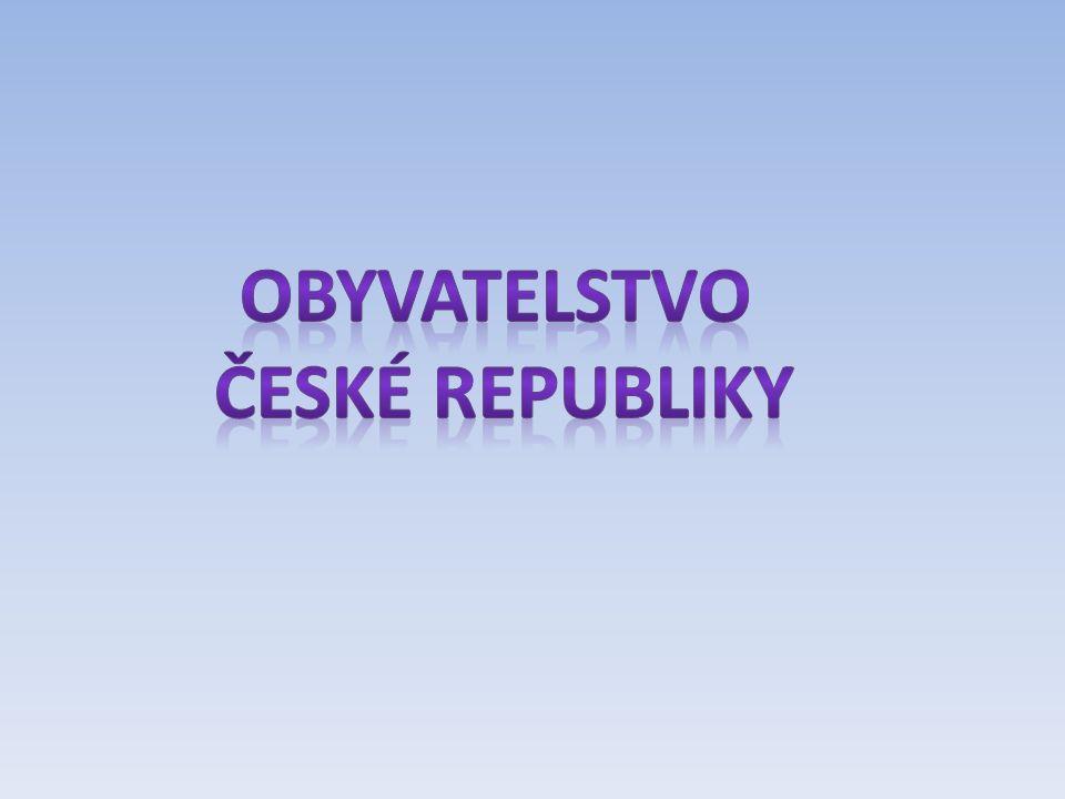Počet obyvatel a vývoj počtu obyvatel Počet obyvatel ČR:10 505 445 (1.1.2012) ??Jaké je pořadí ČR v rámci Evropy, které státy Evropy mají srovnatelný počet obyvatel 14.
