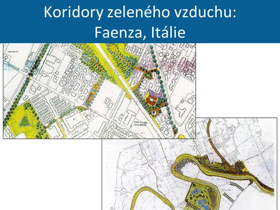 Koridory zeleného vzduchu: Faenza, Itálie