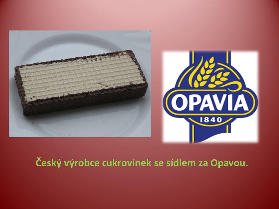 Český výrobce cukrovinek se sídlem za Opavou.