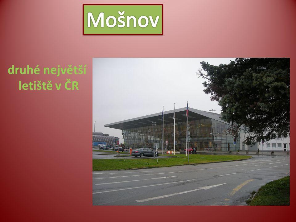 druhé největší letiště v ČR