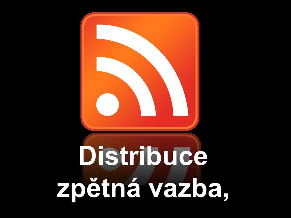 Distribuce zpětná vazba,