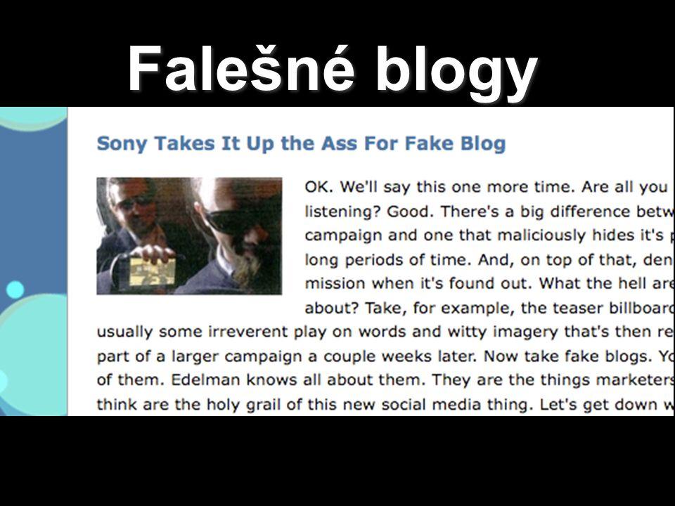 Falešné blogy