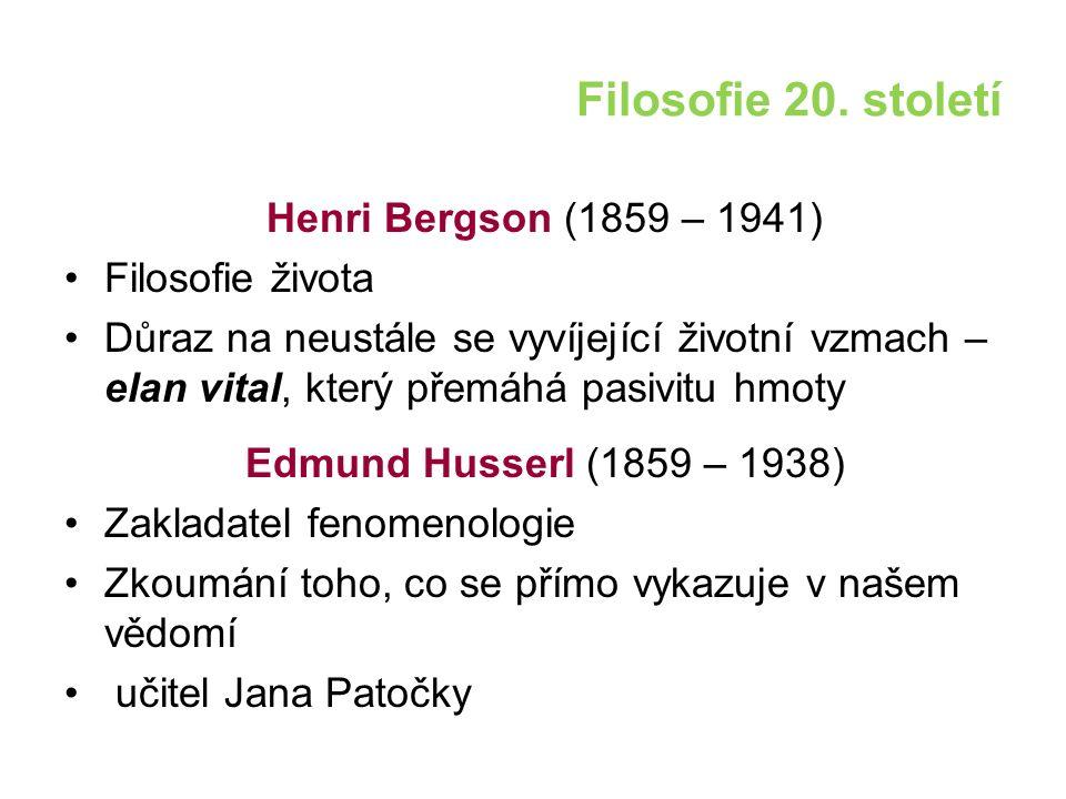 Filosofie 20.