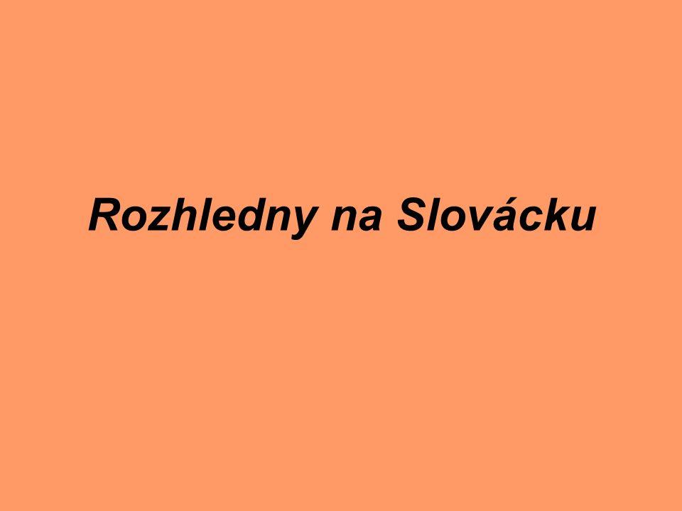 Rozhledny na Slovácku