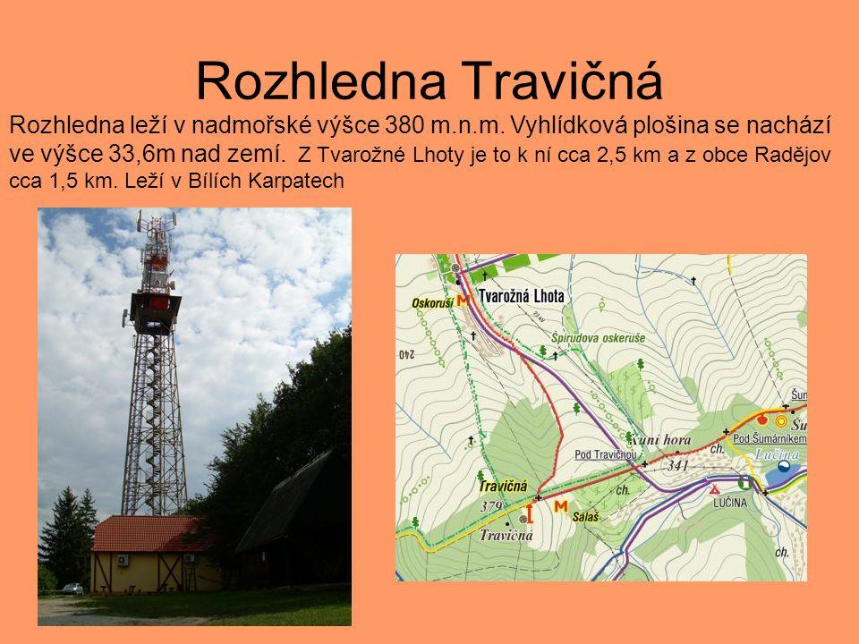 Rozhledna Brdo Nejvyšší kamenná rozhledna na Moravě.