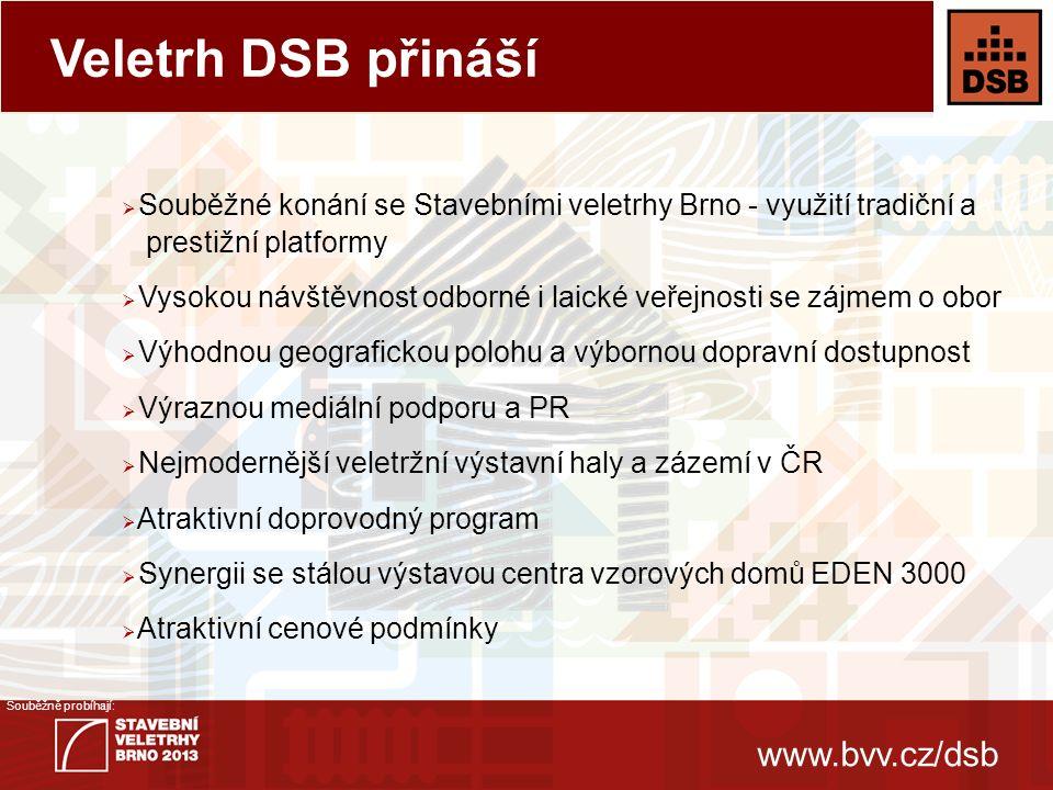 www.bvv.cz/dsb Souběžně probíhají: 1.Dřevěné stavby 2.