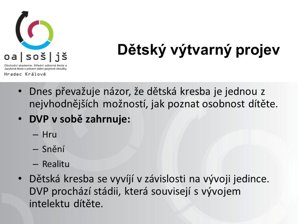 Vývoj DVP v souvislosti s věkem dělíme na období Skvrn: okolo 1 roku Čáranic: 2–5 let – Bezobsažné: 2.–3.