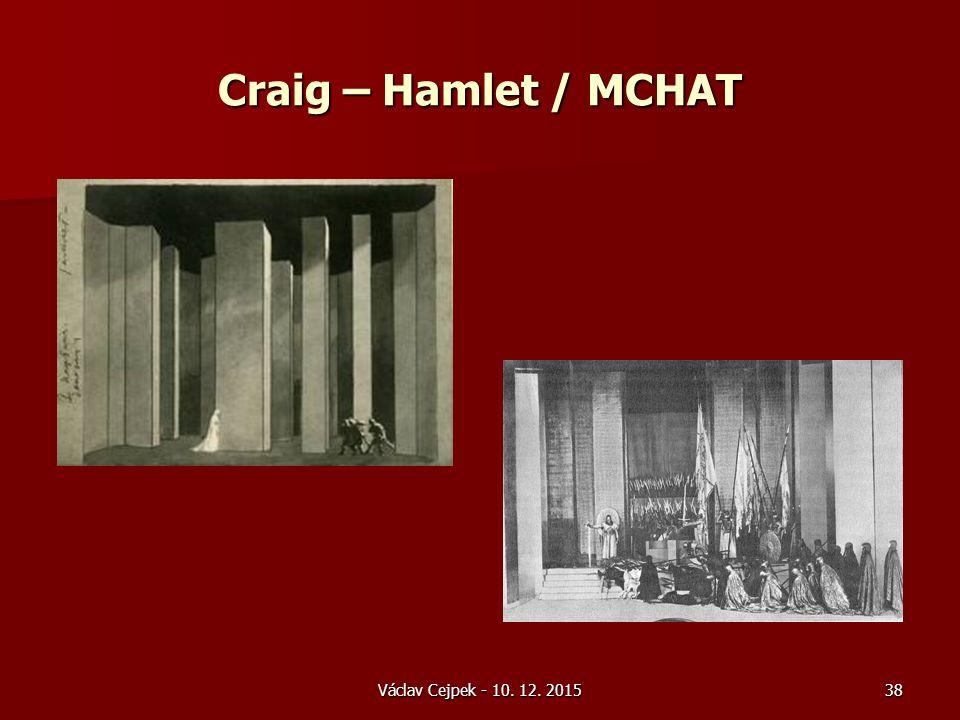 Craig – Hamlet / MCHAT Václav Cejpek - 10. 12. 201538