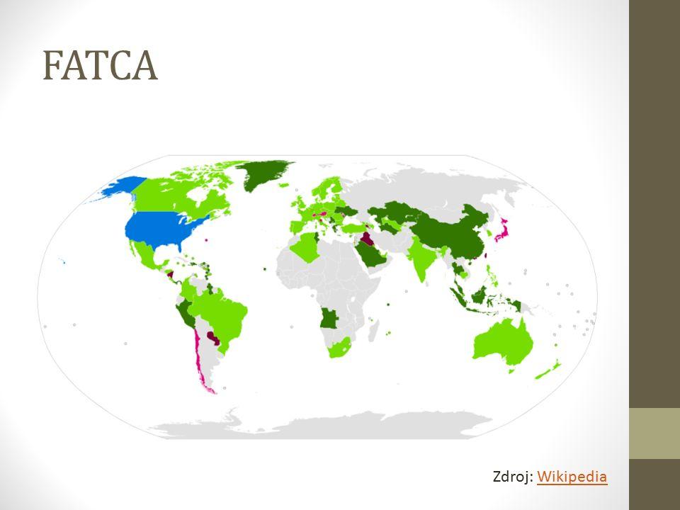 FATCA Zdroj: WikipediaWikipedia