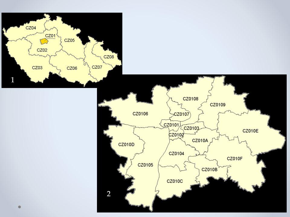 Základní charakteristika Rozloha: 496 km2 Počet obyv.: 1,2 mil Podíl na HDP.
