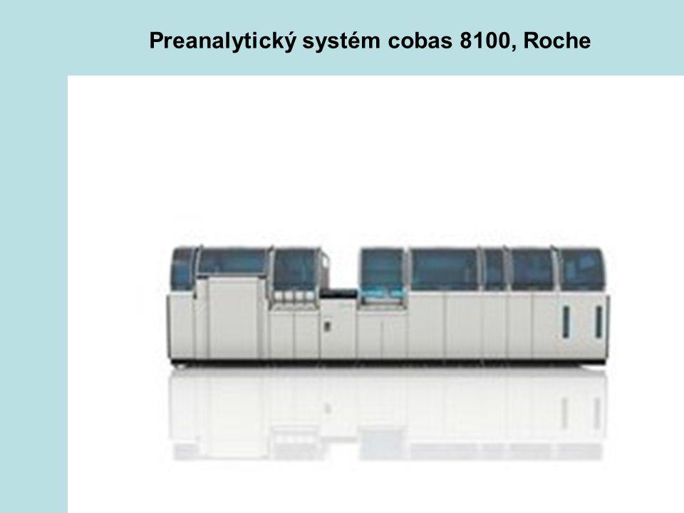 43 Preanalytický systém cobas 8100, Roche