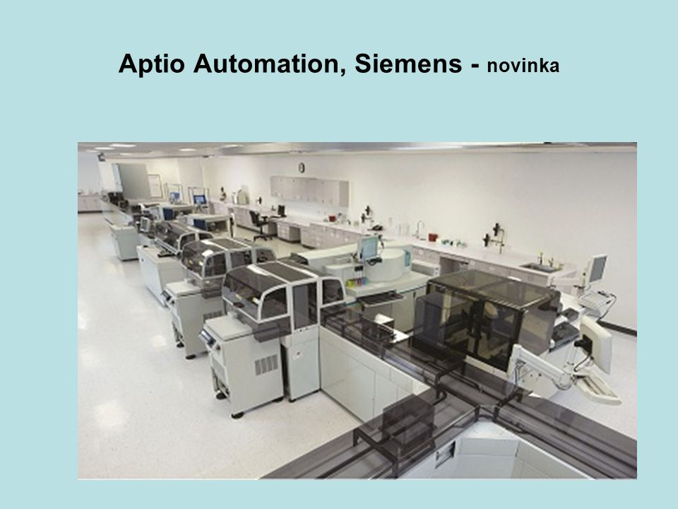 Aptio Automation, Siemens - novinka 46