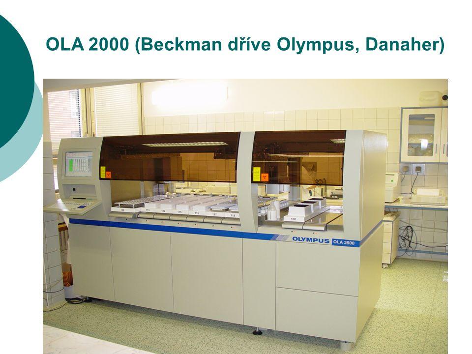 14 OLA 2000 (Beckman dříve Olympus, Danaher)