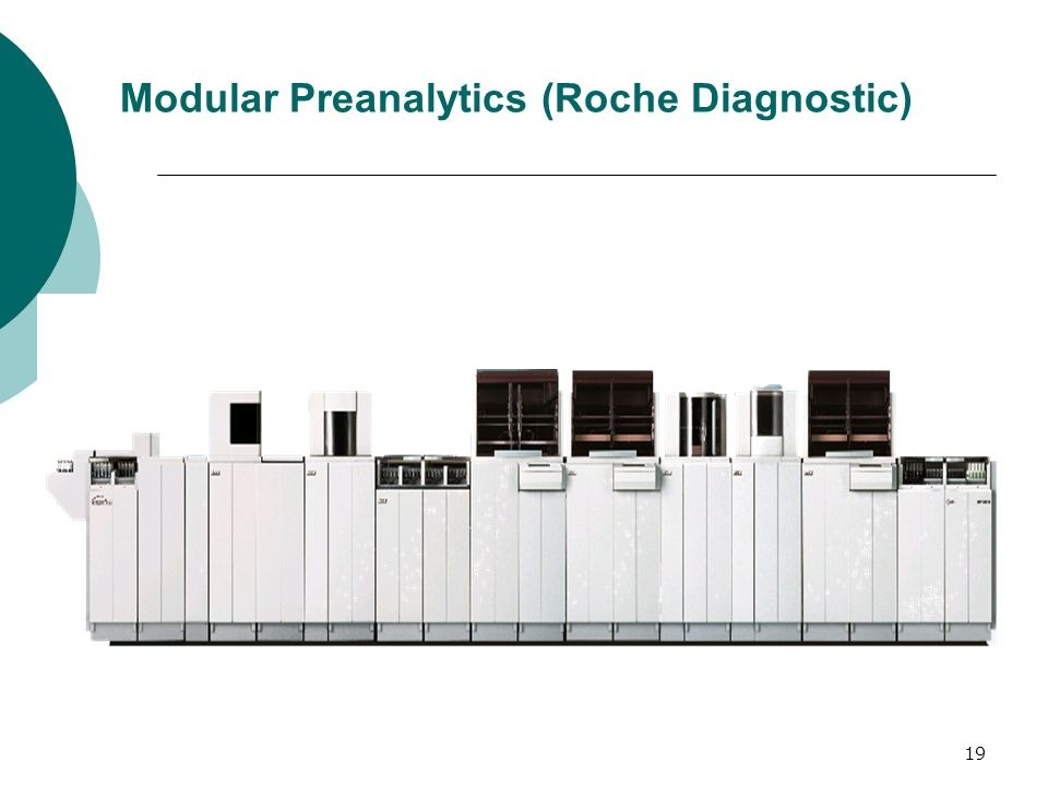 19 Modular Preanalytics (Roche Diagnostic)