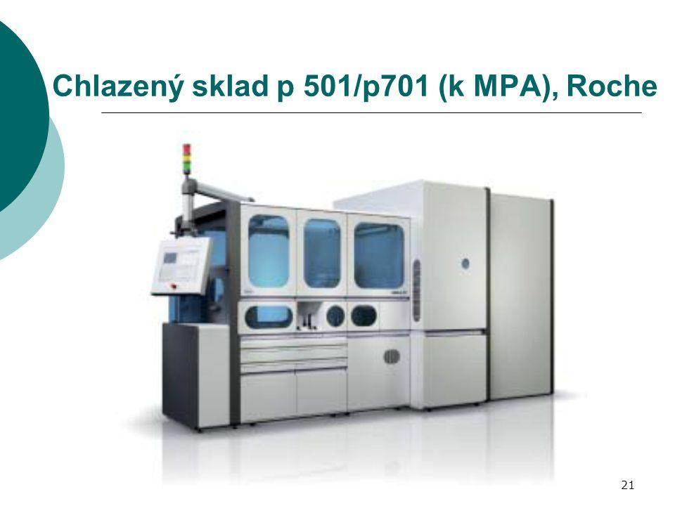21 Chlazený sklad p 501/p701 (k MPA), Roche