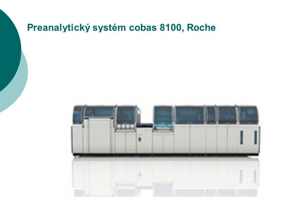 28 Preanalytický systém cobas 8100, Roche