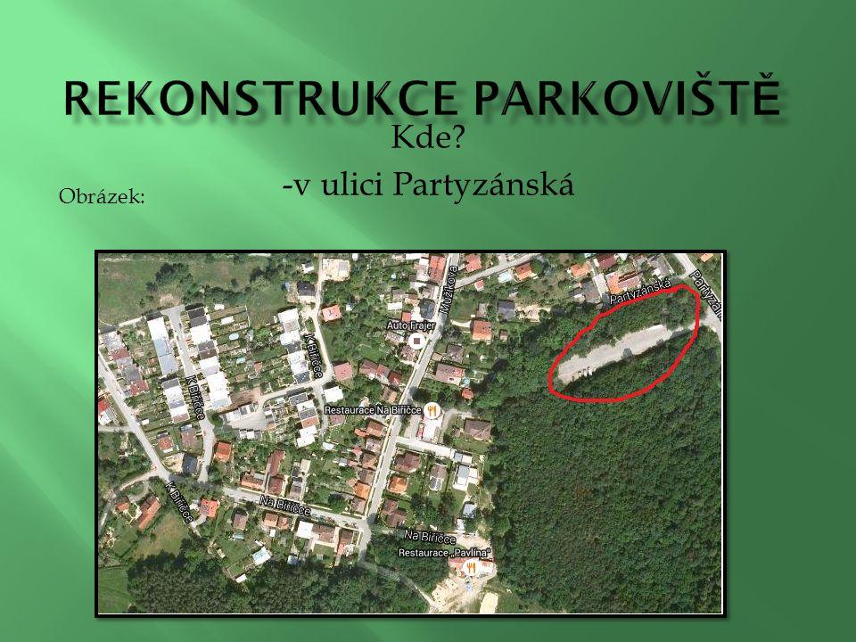 Kde -v ulici Partyzánská Obrázek: