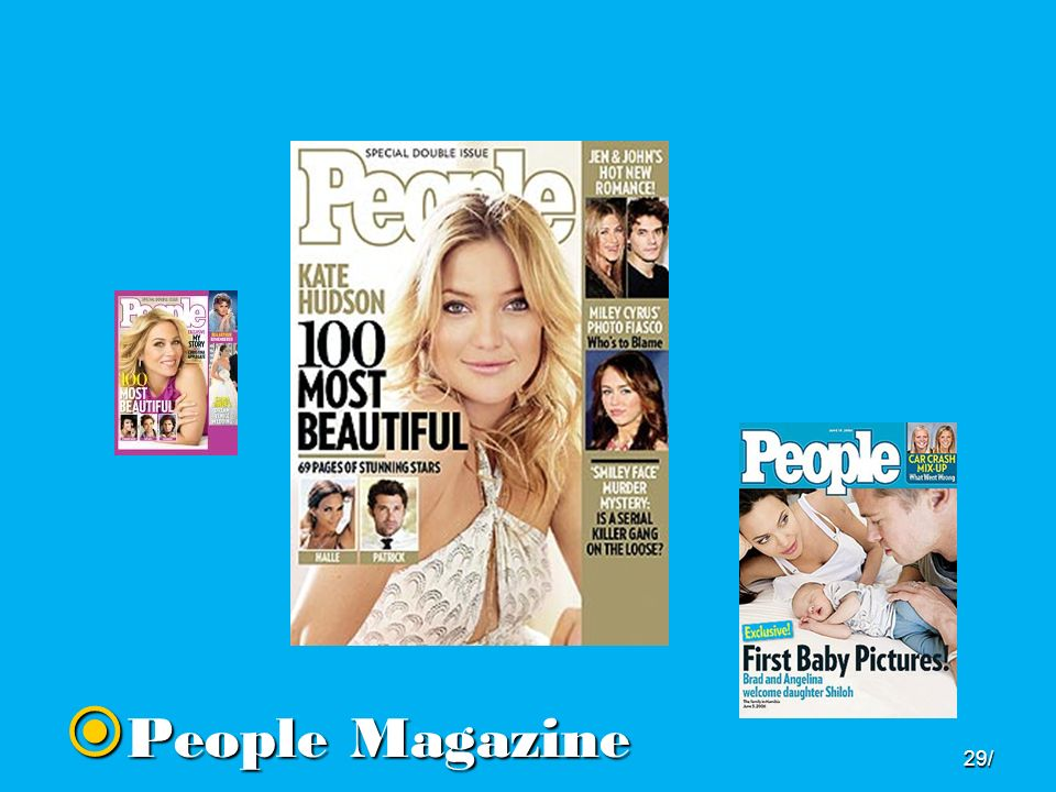  People Magazine 29/