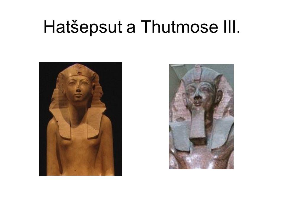 Hatšepsut a Thutmose III.