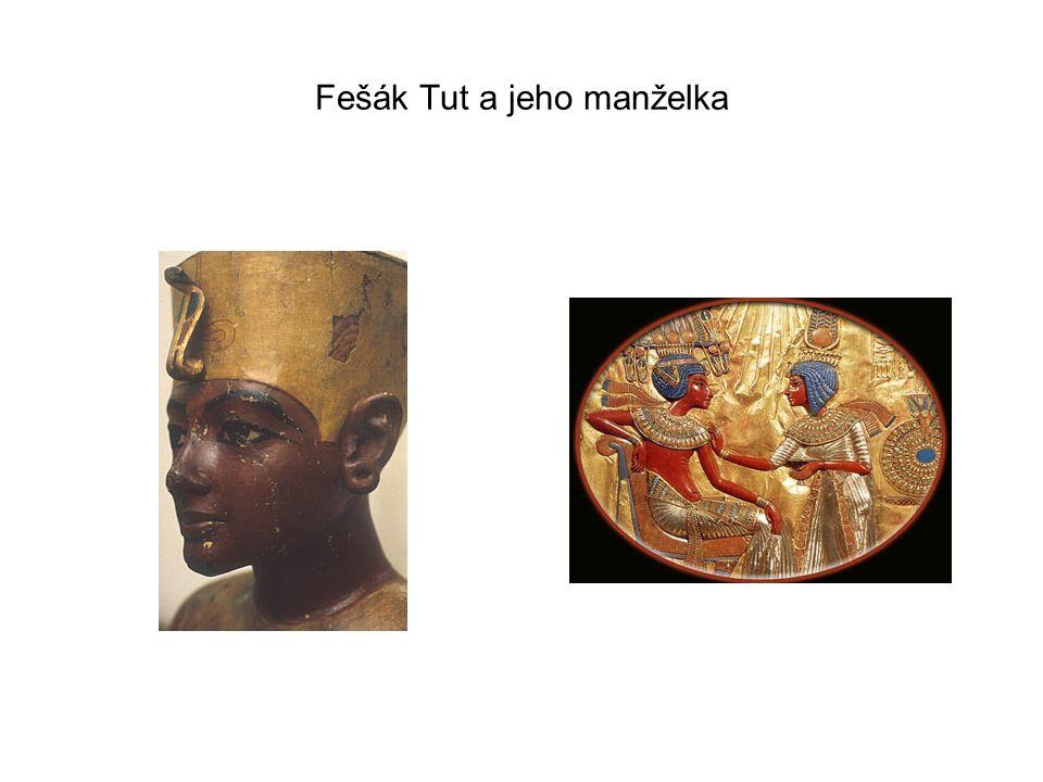 Fešák Tut a jeho manželka