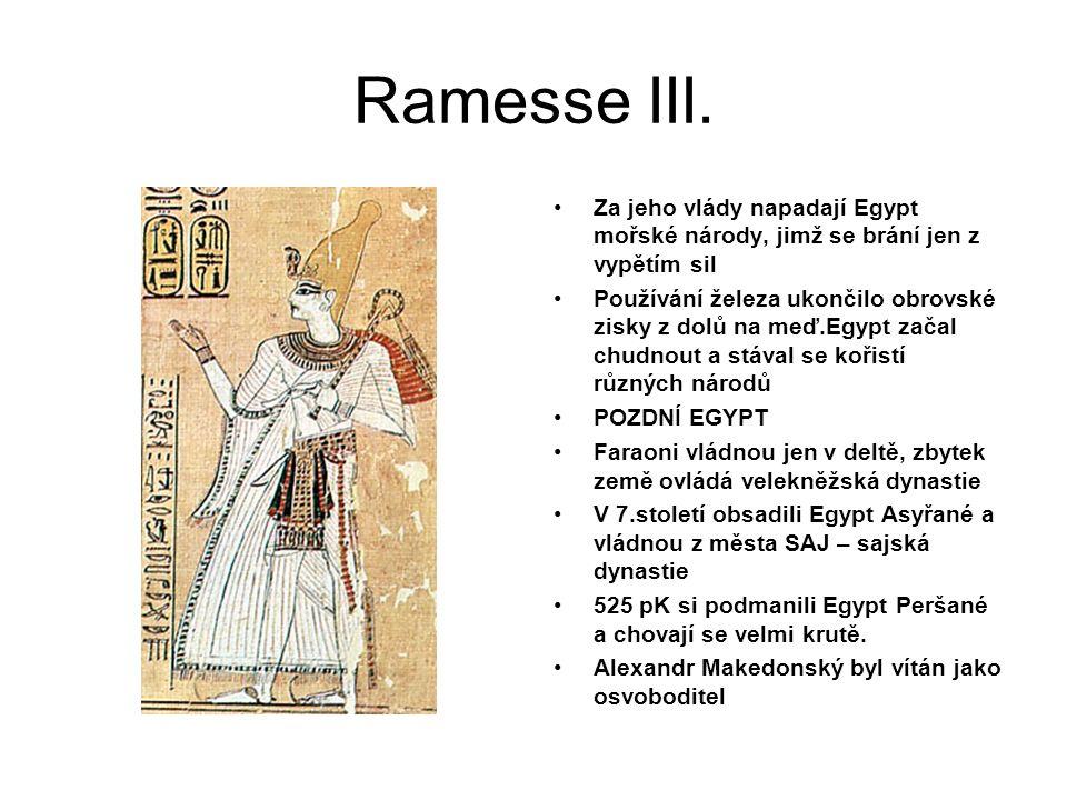 Ramesse III.