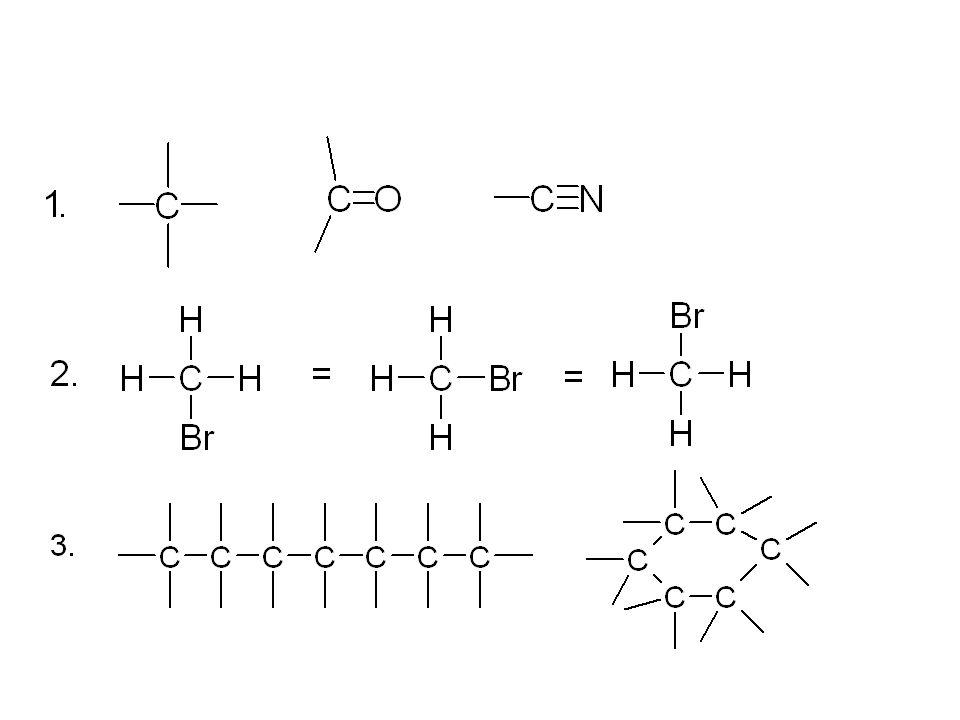 4) Cyklořetězcová izomerie : 5) Radikálová izomerie (metamerie):