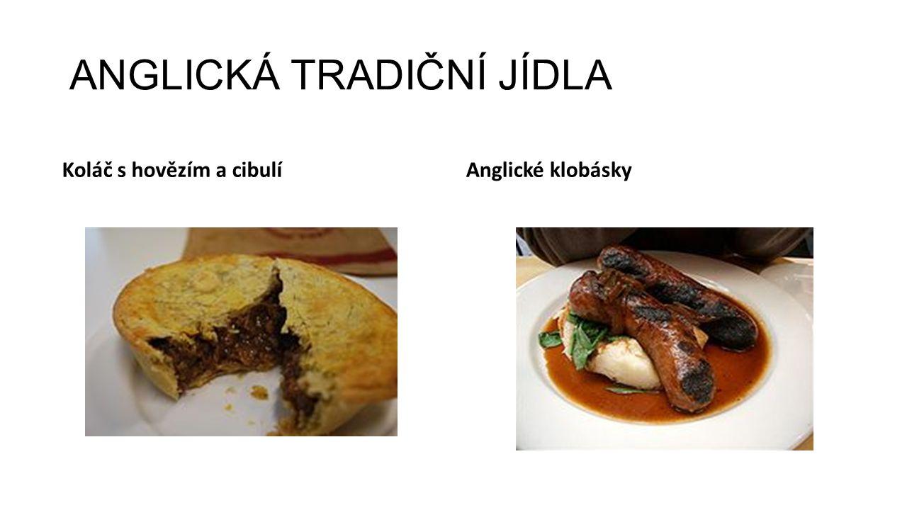 ANGLICKÁ TRADIČNÍ JÍDLA SandwichAnglický rostbif