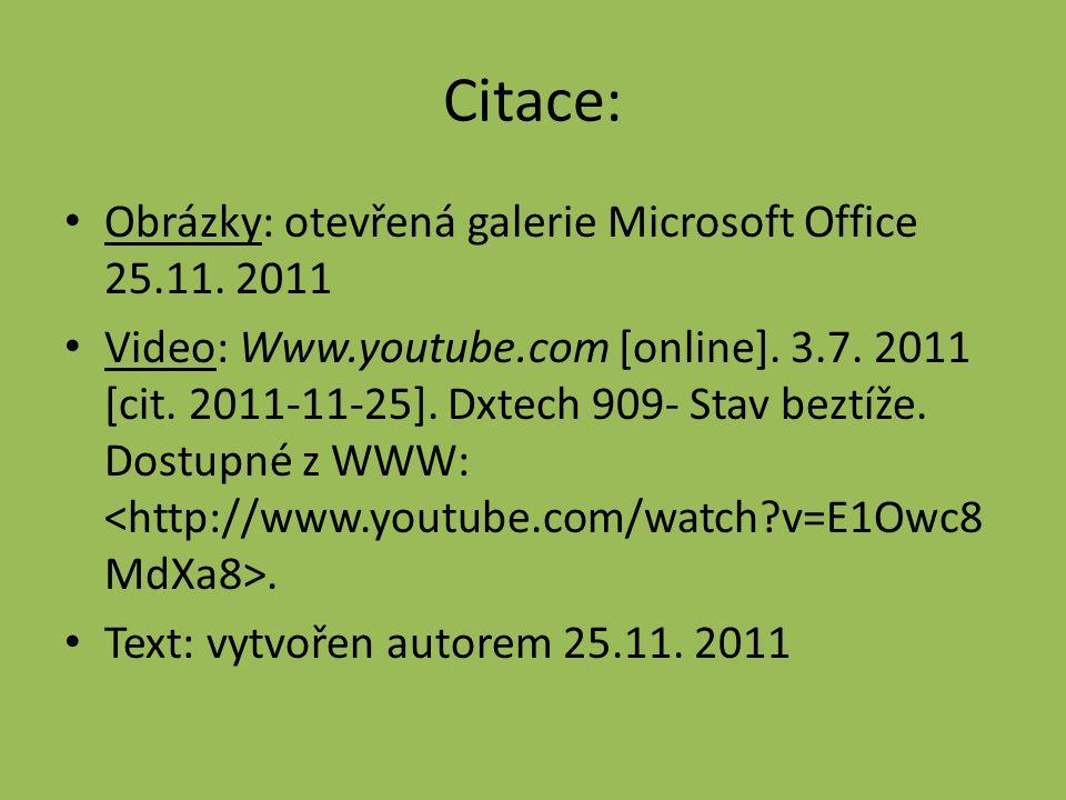Citace: Obrázky: otevřená galerie Microsoft Office 25.11.