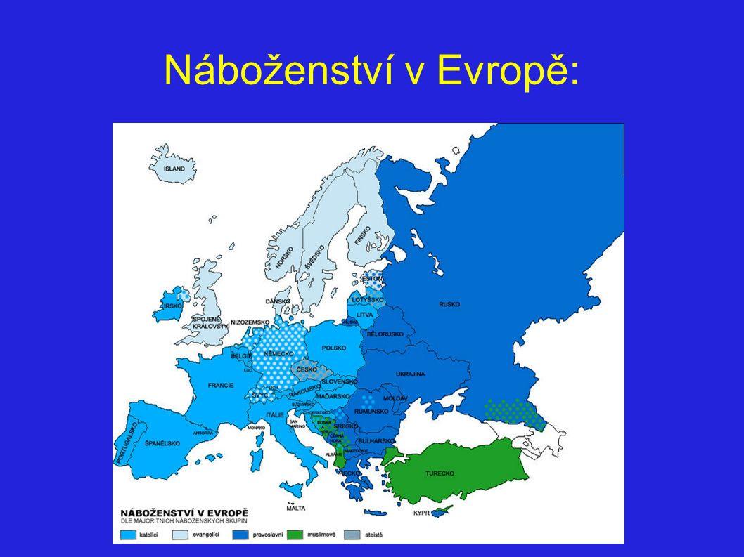 Náboženství v Evropě: