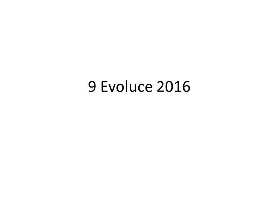 9 Evoluce 2016