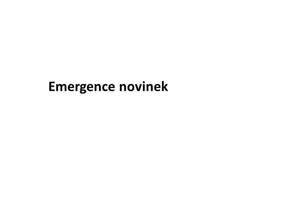 Emergence novinek