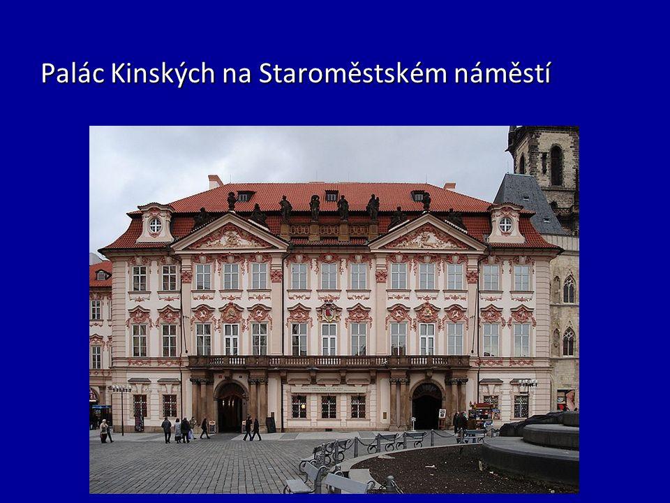 Palác Kinských na Staroměstském náměstí